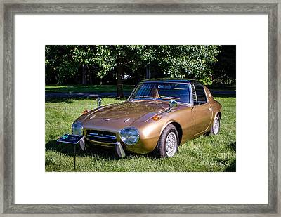 1968 Toyota Sports 800 Framed Print