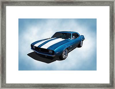 1969 Camaro Framed Print