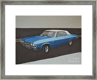 1969 Chevelle Framed Print