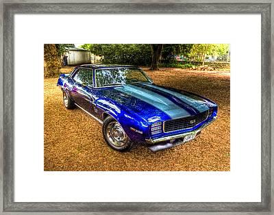 1969 Chevrolet Camaro 396 Framed Print by Phil 'motography' Clark