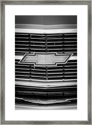 1969 Chevrolet Chevelle Grille Emblem Framed Print by Jill Reger