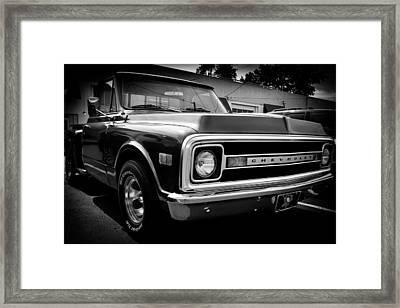 1969 Chevrolet Pickup Framed Print by David Patterson