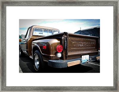 1969 Chevrolet Pickup II Framed Print by David Patterson