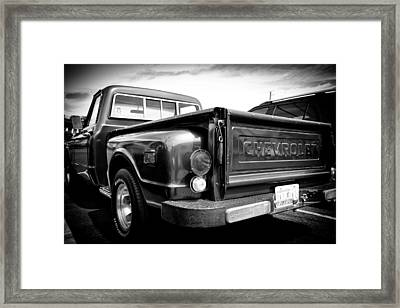 1969 Chevrolet Pickup IIi Framed Print by David Patterson