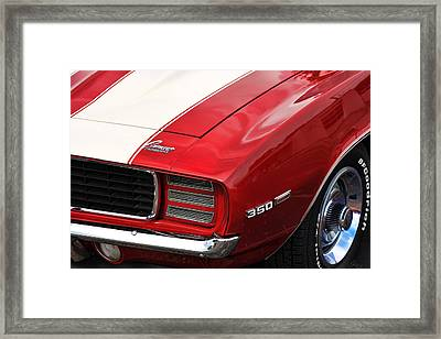 1969 Chevy Camaro Rs Framed Print by Gordon Dean II