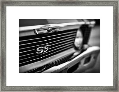 1969 Chevy Nova Ss  Framed Print by Gordon Dean II