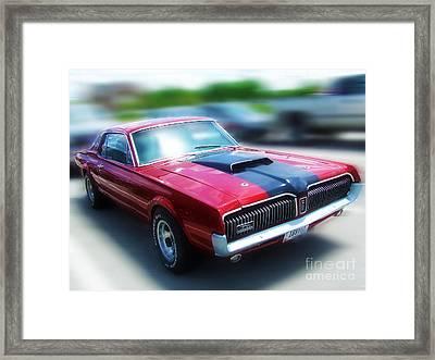 1969 Cougar Framed Print