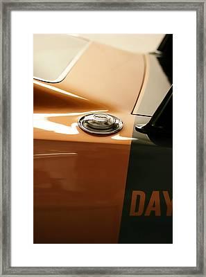1969 Dodge Charger Daytona - Fuel Day Framed Print