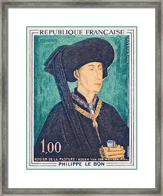 1969 Philippe Le Bon Framed Print by Lanjee Chee