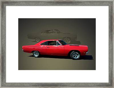 1969 Plymouth 440 Roadrunner Framed Print