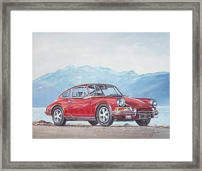 1969 Porsche 911 2.0 S Framed Print