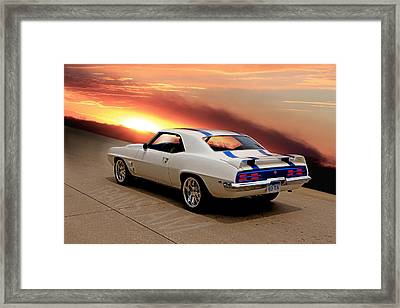 1969 Trans Am Framed Print