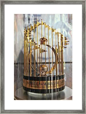 1969 World Championship Trophy Framed Print by Allen Beatty