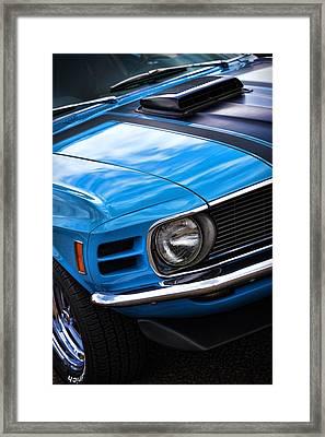 1970 Boss 302 Ford Mustang Framed Print by Gordon Dean II