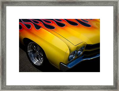 1970 Chevrolet Chevelle Framed Print by David Patterson