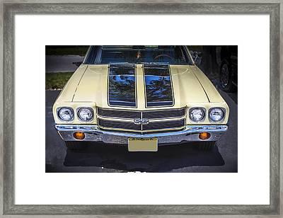 1970 Chevrolet Chevelle Ss Framed Print