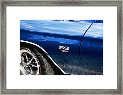 1970 Chevy Chevelle 454 Ss  Framed Print