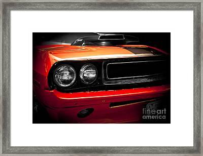 1970 Dodge Challenger 440 Framed Print by Kamil Swiatek