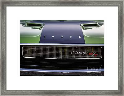 1970 Dodge Challenger Framed Print by Dennis Hedberg