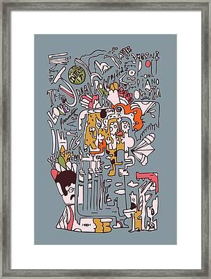 1970 John Rolling Stones Interview  Framed Print by Jos De La Paz