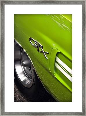 1970 Plymouth Gtx Framed Print by Gordon Dean II