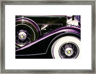 1970s 1930s Infrared Graphic Effect Framed Print