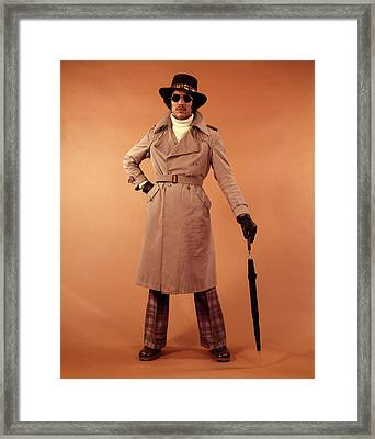1970s African American Young Man Framed Print