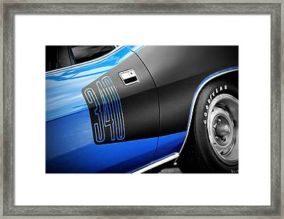 1971 340 Plymouth 'cuda Framed Print by Gordon Dean II