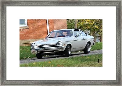1971 Chevrolet Vega Framed Print