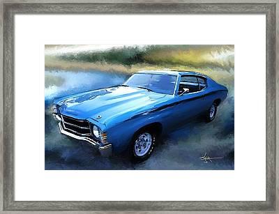 1971 Chevy Chevelle Framed Print