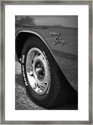 1971 Dodge Dart Swinger Framed Print by Gordon Dean II