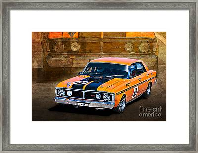 1971 Ford Falcon Xy Gt Framed Print
