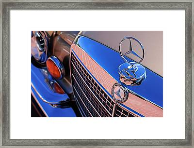 1971 Mercedes-benz 280se 3.5 Cabriolet  Framed Print by Jill Reger