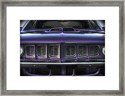1971 Plymouth 'cuda 440 Framed Print by Gordon Dean II
