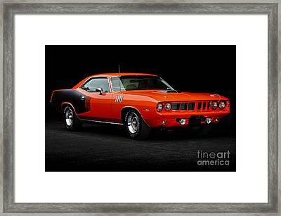 1971 Plymouth Cuda 440 Framed Print