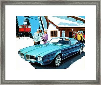 1971 Pontiac Firebird Espirit Framed Print