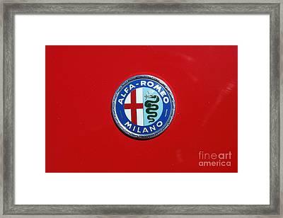 1972 Alfa Romeo Junior 1600 5d23147 Framed Print