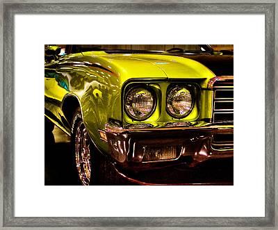 1972 Buick Skylark Custom Convertible Framed Print by David Patterson