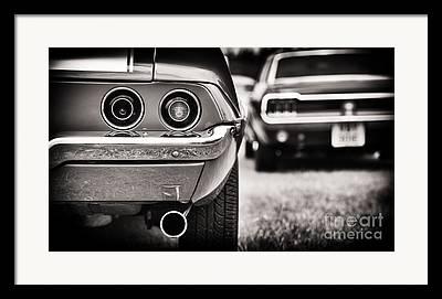 Chevrolet Trunk Framed Prints