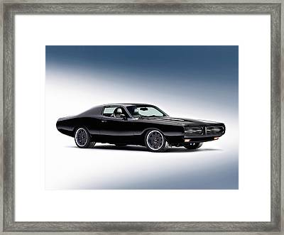 1972 Dodge Charger Framed Print by Gianfranco Weiss