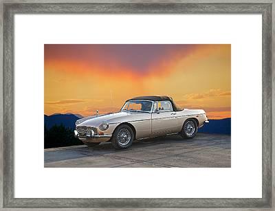 1973 Mgb Roadster Framed Print