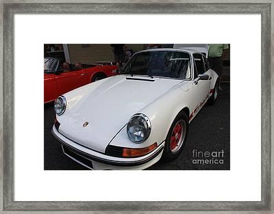 1973 Porsche Framed Print by John Telfer
