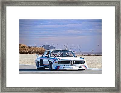 1974 Bmw 3.5csl Gt Framed Print by Dave Koontz