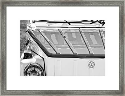 1974 Volkswagen Thing Acapulco Beach Car -3409bw Framed Print