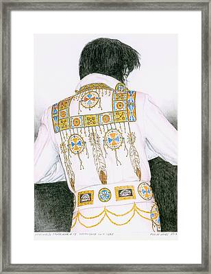 1975 Indian Chief Suit Framed Print by Rob De Vries