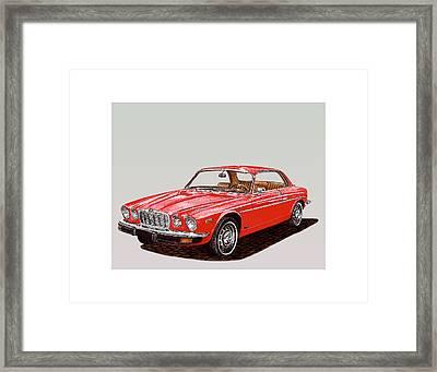 1975 Jaguar Xj 6 C Framed Print by Jack Pumphrey
