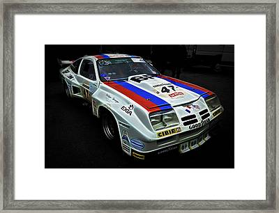 1976 Chevrolet Monza Imsa Framed Print by Phil 'motography' Clark