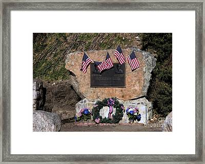 1976 Memorial Framed Print by Jon Burch Photography