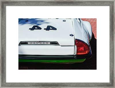 1978 Jaguar Xj-s Group 44 Trans-am Race Car Taillight Emblem Framed Print by Jill Reger