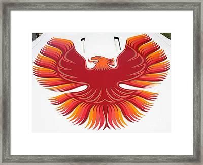 1979 Pontiac Firebird Emblem Framed Print by John Telfer